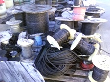 Unstripped Copper Cable